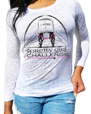 Pretty Girl Challenge Long Sleeve Burnout -ALS