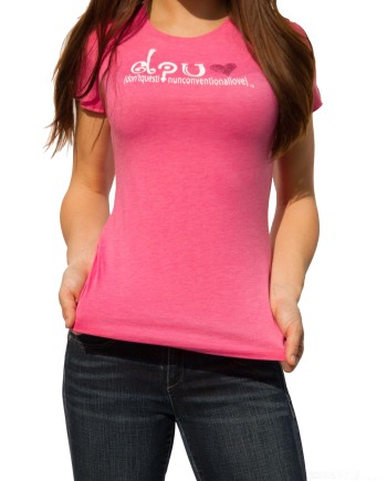 Unconventional Love Pink Tee