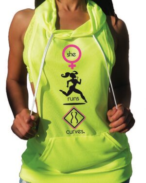 Do You Run Curves? Highlight Jersey Hoodie
