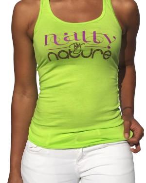 Natty By Nature Razor Back Tank